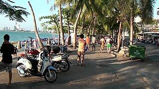 Beach Whores in Pattaya Thailand