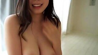 Petite Japanese Koko Mashiro virtual blowjob and sex