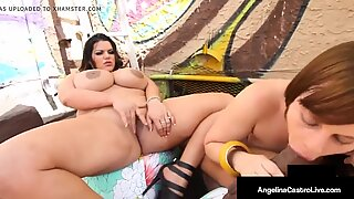 Big Beauty Angelina Castro & Virgo Peridot Milk A Black Cock