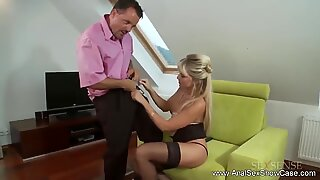 Rough anal sex